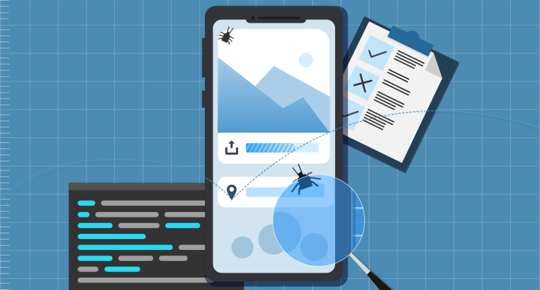 How do I switch from manual testing to mobile testing